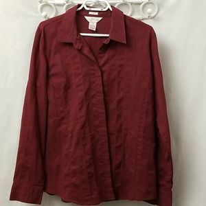 Northern Reflection Womans Button Up Size XL